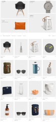 Shop page of Savoy theme