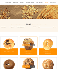 Shop page of Tasty