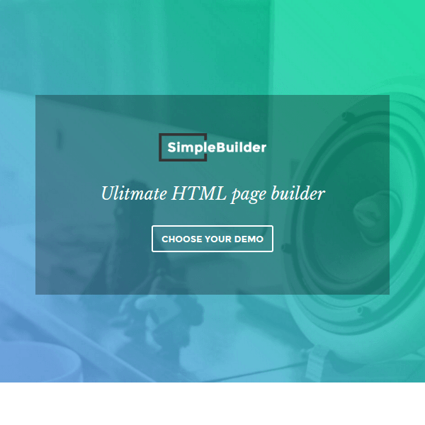 SimpleBuilder - Multipurpose WordPress Theme