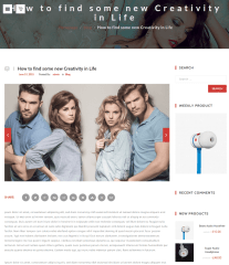 Single Blog Page – OneShop