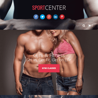 Sport Center - Gym, Yoga & Dance WP Theme