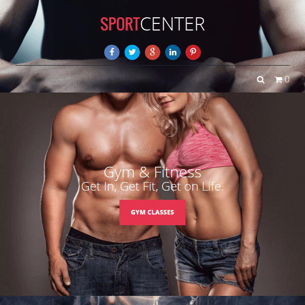 Sport Center – Gym, Yoga & Dance WP Theme