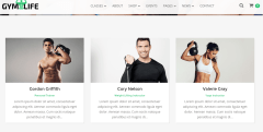 Team or Team page of GymLife