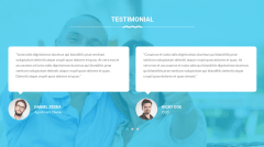 Testimonials Section of Cleaning