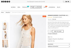 The Look Shop Page