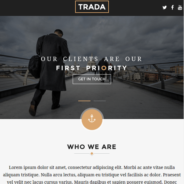 Trada – Creative Agency Multipurpose Theme