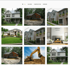 Various projects of Construct theme