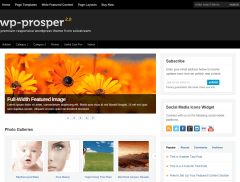 WP-Prosper Home Page