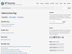 WP-Responsive Articles Page