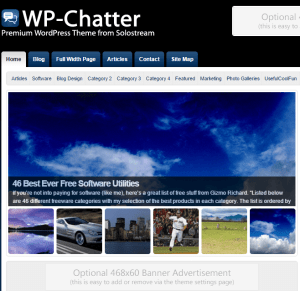 WP chatter- WordPress theme for magazines and blogs