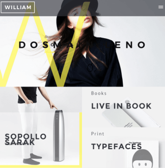 William - Creative Portfolio WordPress theme