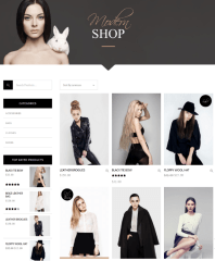 With sidebar shop page – Chandelier