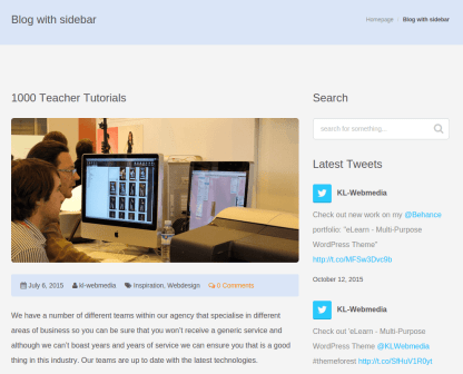 eLearn Blog Page