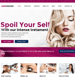 hairdresser-wordpress