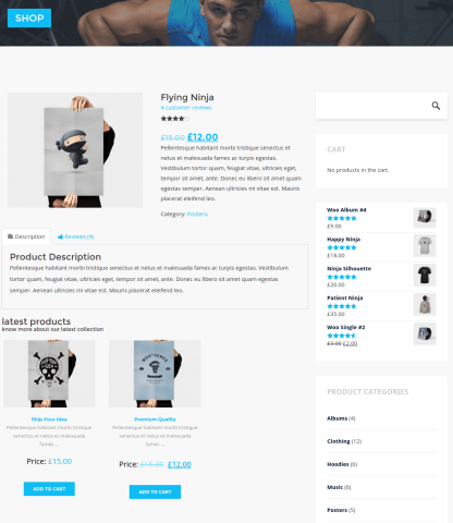 single Product Page - Stayfit