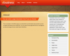 About Page of eBusiness