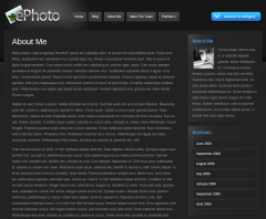 About Page of ePhoto