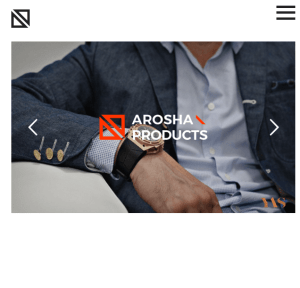 Arosha - Minimal Creative WordPress theme