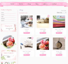 Beautiful Watercolor – shop page