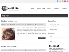 Blog Page of Andrina