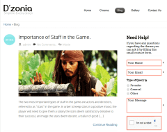 Blog Page of Dzonia