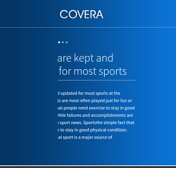 COVERA - FLEXIBLE MULTIPURPOSE WORDPRESS THEME