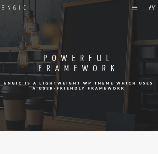 Engic -Multiuse WP theme.