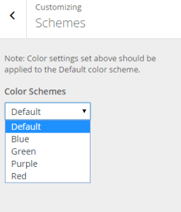Fable - Live customizer - Color Schemes