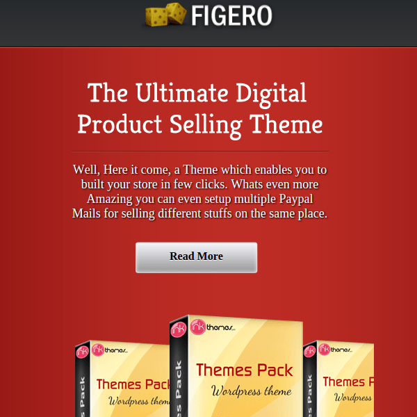 FIGERO – SINGLE PRODUCT WORDPRESS THEME