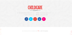 Footer of Child Care