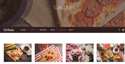 Gallery Page of ChokoFood