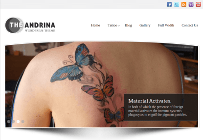 Home Page of Andrina