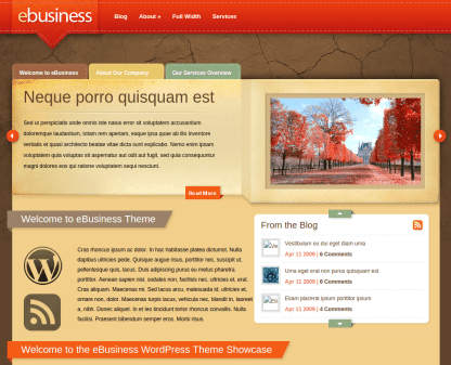 Home Page of eBusiness