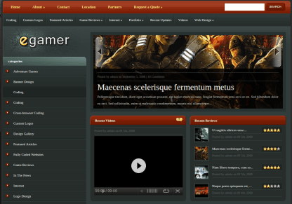 Home Page of eGamer