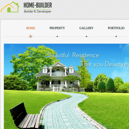 HOMEBUILDER - REAL ESTATE WORDPRESS THEME