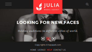 Julia - Talent Management WordPress Theme