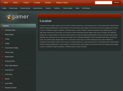 Location Page of eGamer