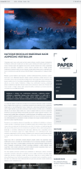 Paper – Video Post layout