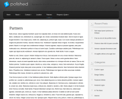 Partner Page of Polished