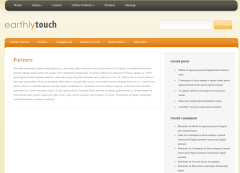 Partners Page of EarthlyTouch