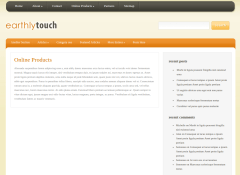Products Page of EarthlyTouch