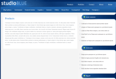 Products Page of StudioBlue