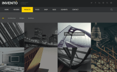 Projects Page of Invento
