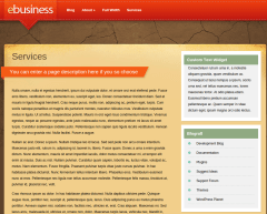 Services Page of eBusiness