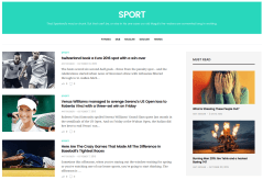 Sport Page of GoodLife