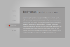 Testimonials Page of BusinessCard