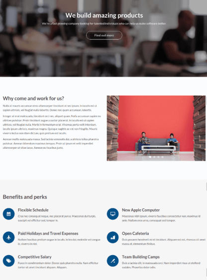 Careers page of Stratus