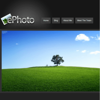 ePhoto WordPress Theme