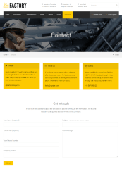 Factory – contact us page