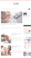Glam Pro – Blog page